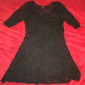 Black Material Girl Dress- only worn once!